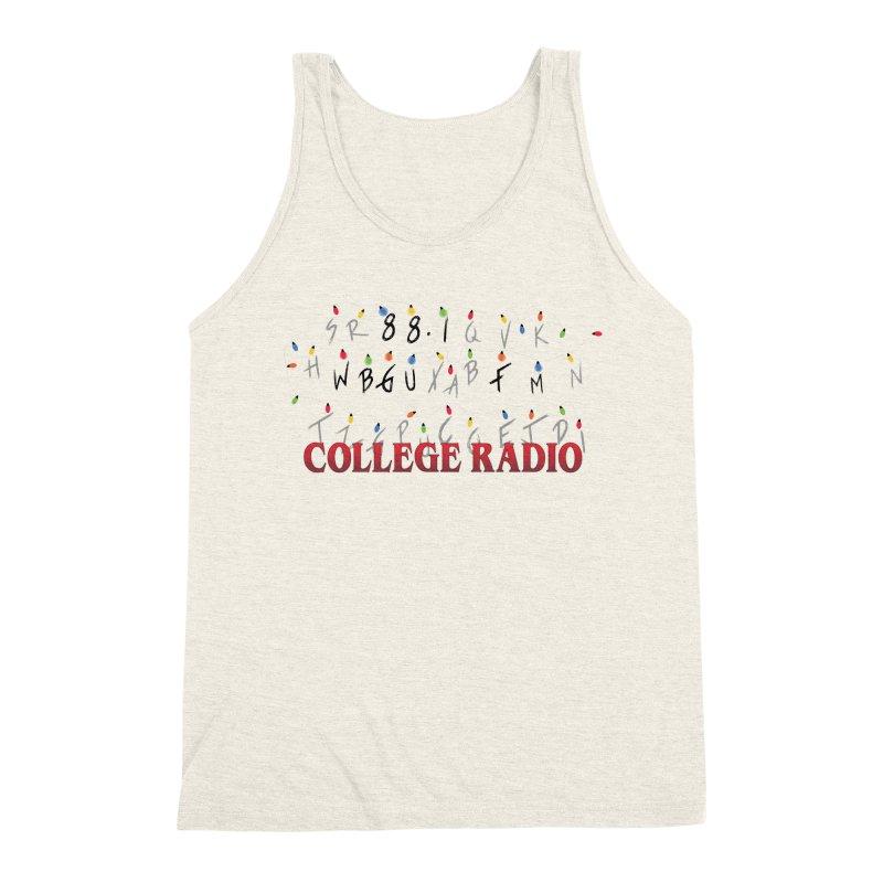 Stranger Radio Men's Triblend Tank by WBGU-FM's Shop