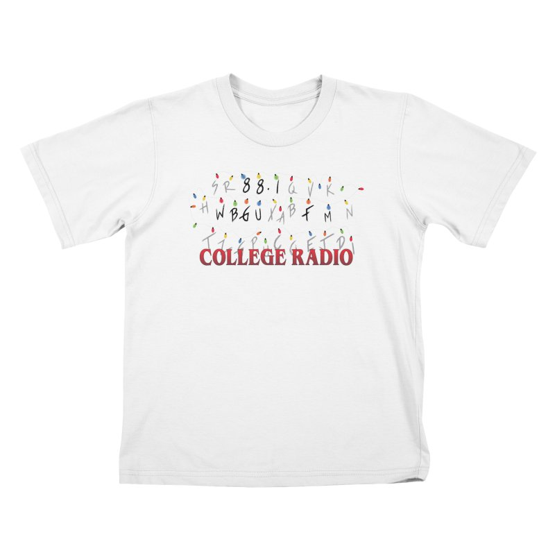 Stranger Radio Kids T-Shirt by WBGU-FM's Shop