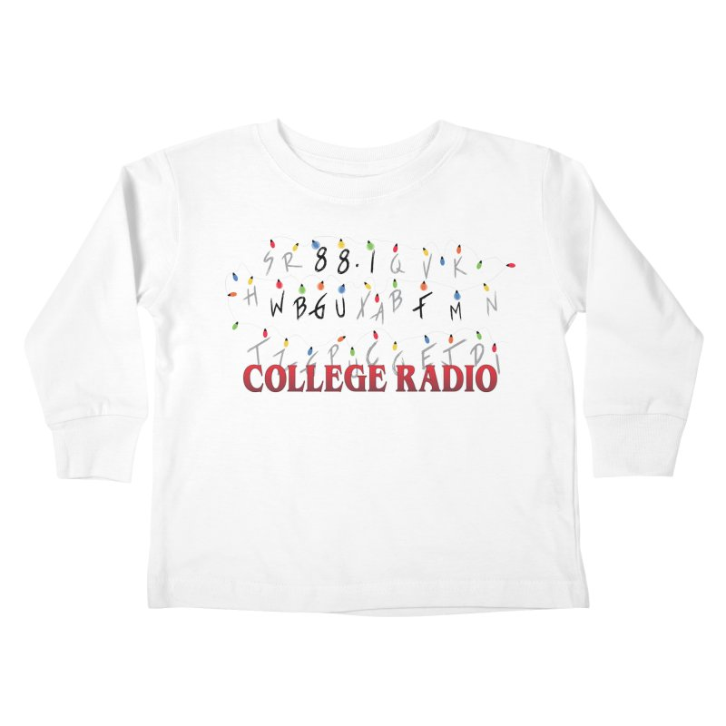 Stranger Radio Kids Toddler Longsleeve T-Shirt by WBGU-FM's Shop