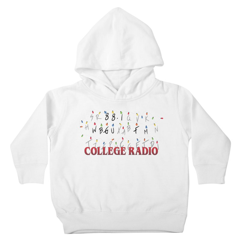 Stranger Radio Kids Toddler Pullover Hoody by WBGU-FM's Shop