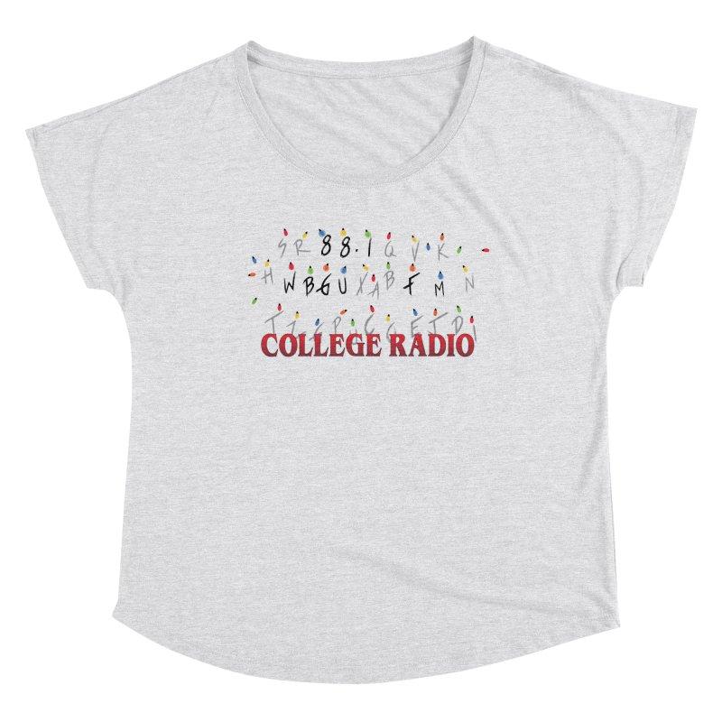 Stranger Radio Women's Scoop Neck by WBGU-FM's Shop