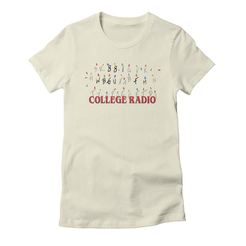 Stranger Radio Women's T-Shirt by WBGU-FM's Shop