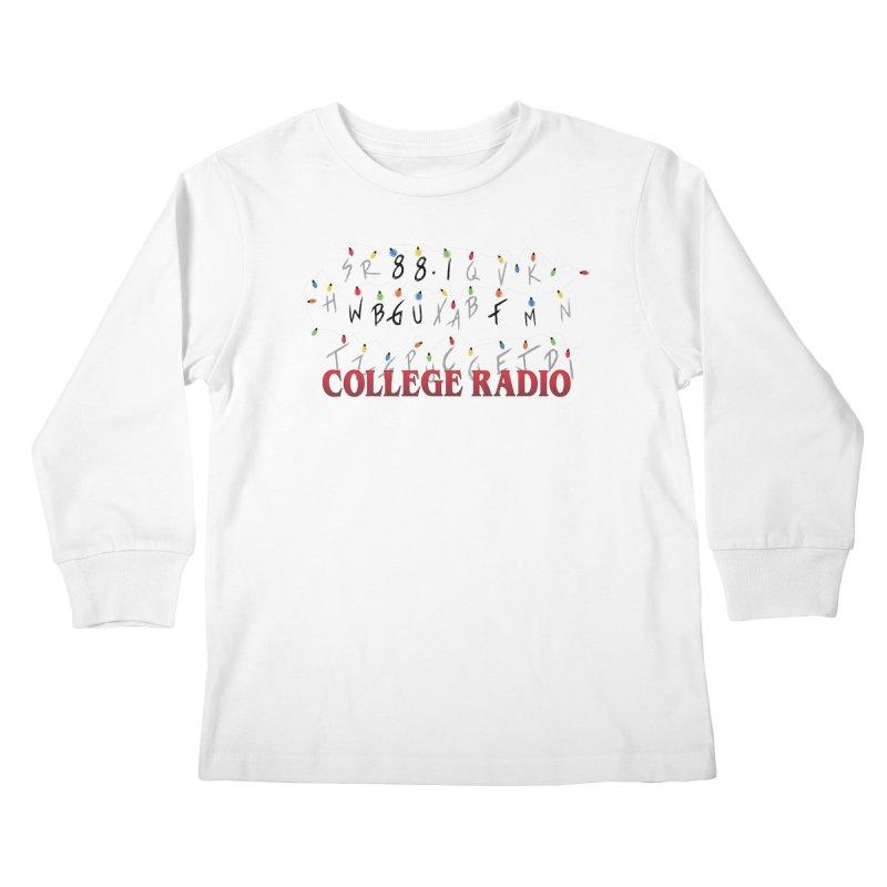 Stranger Radio Kids Longsleeve T-Shirt by WBGU-FM's Shop
