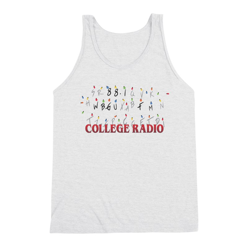 Stranger Radio Men's Triblend Tank by WBGU-FM's Shop