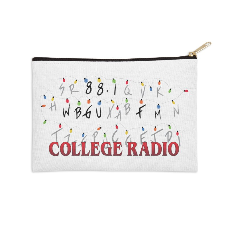 Stranger Radio Accessories Zip Pouch by WBGU-FM's Shop