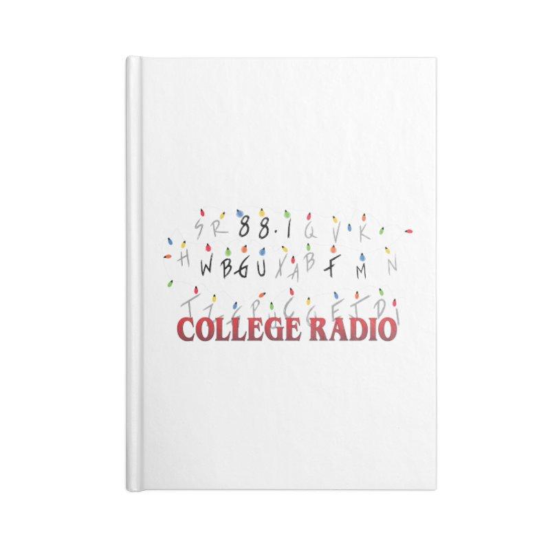 Stranger Radio Accessories Blank Journal Notebook by WBGU-FM's Shop