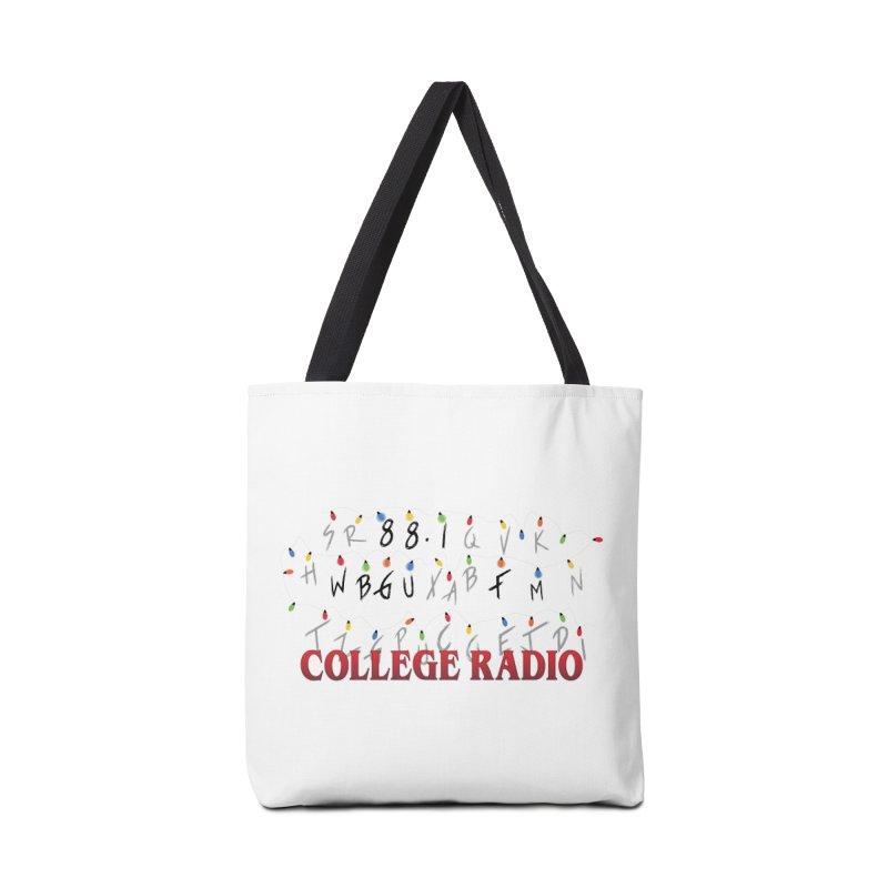 Stranger Radio Accessories Tote Bag Bag by WBGU-FM's Shop