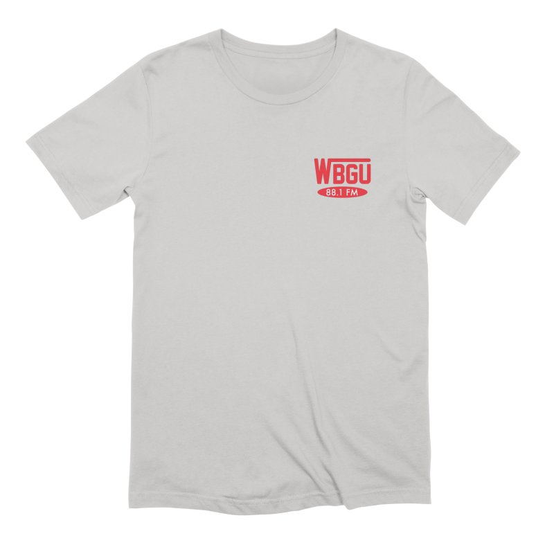 WBGU Chest Logo Men's Extra Soft T-Shirt by WBGU-FM's Shop