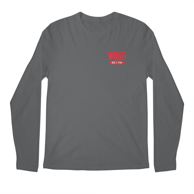 WBGU Chest Logo Men's Longsleeve T-Shirt by WBGU-FM's Shop