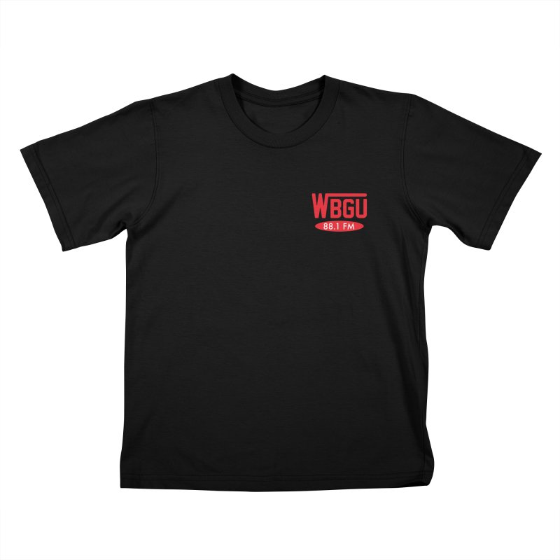 WBGU Chest Logo Kids T-Shirt by WBGU-FM's Shop