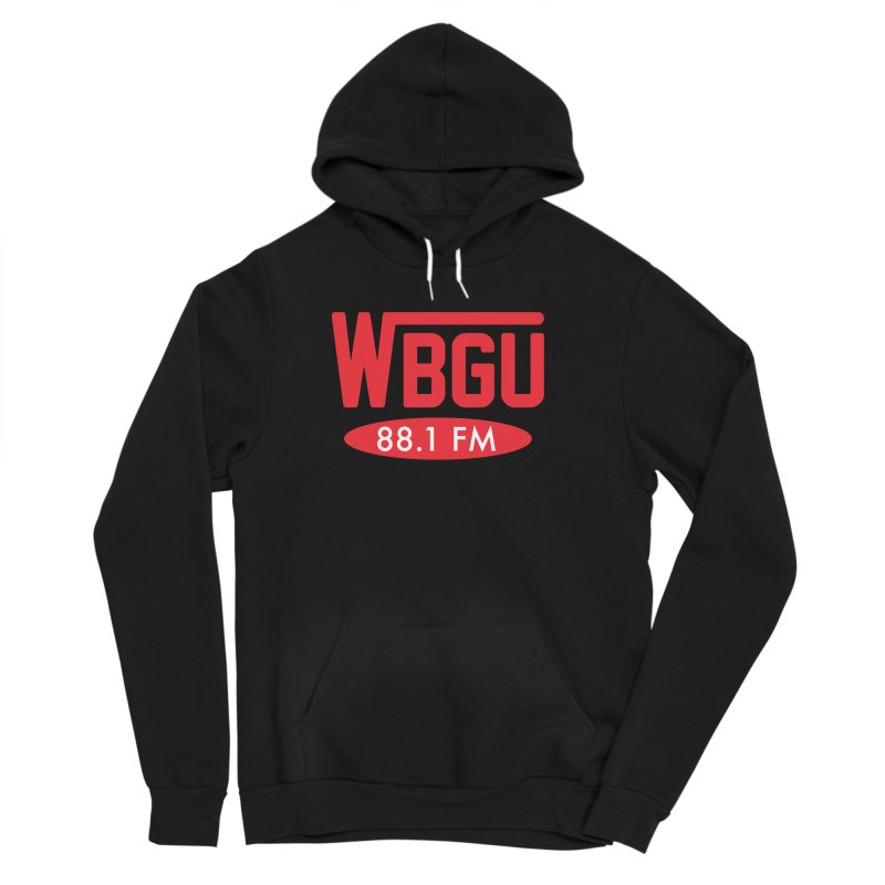 WBGU Red Logo Women's Sponge Fleece Pullover Hoody by WBGU-FM's Shop
