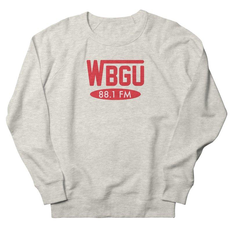 WBGU Red Logo Men's Sweatshirt by WBGU-FM's Shop