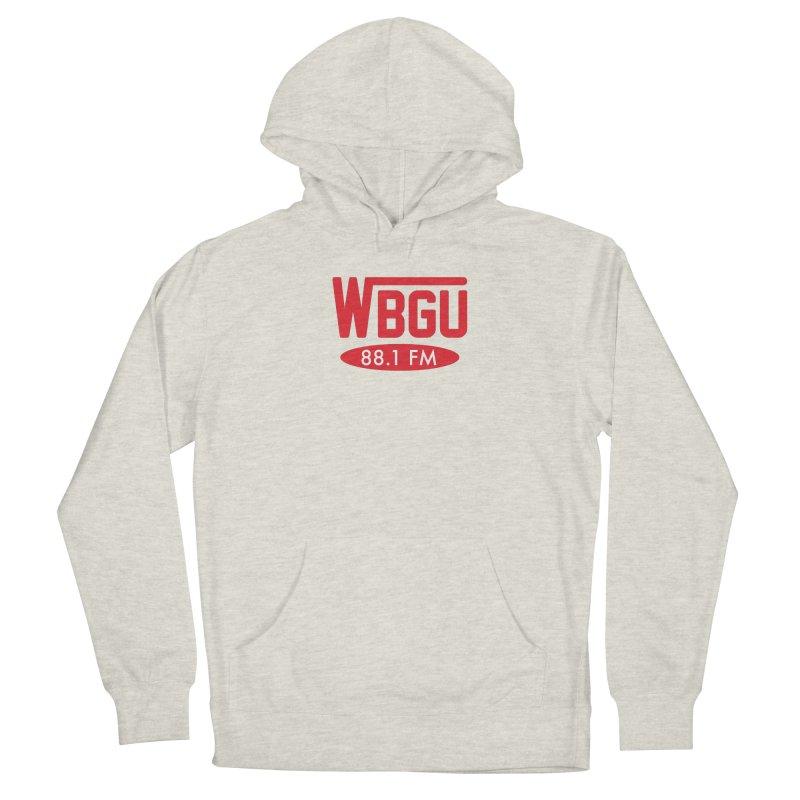 WBGU Red Logo Men's Pullover Hoody by WBGU-FM's Shop