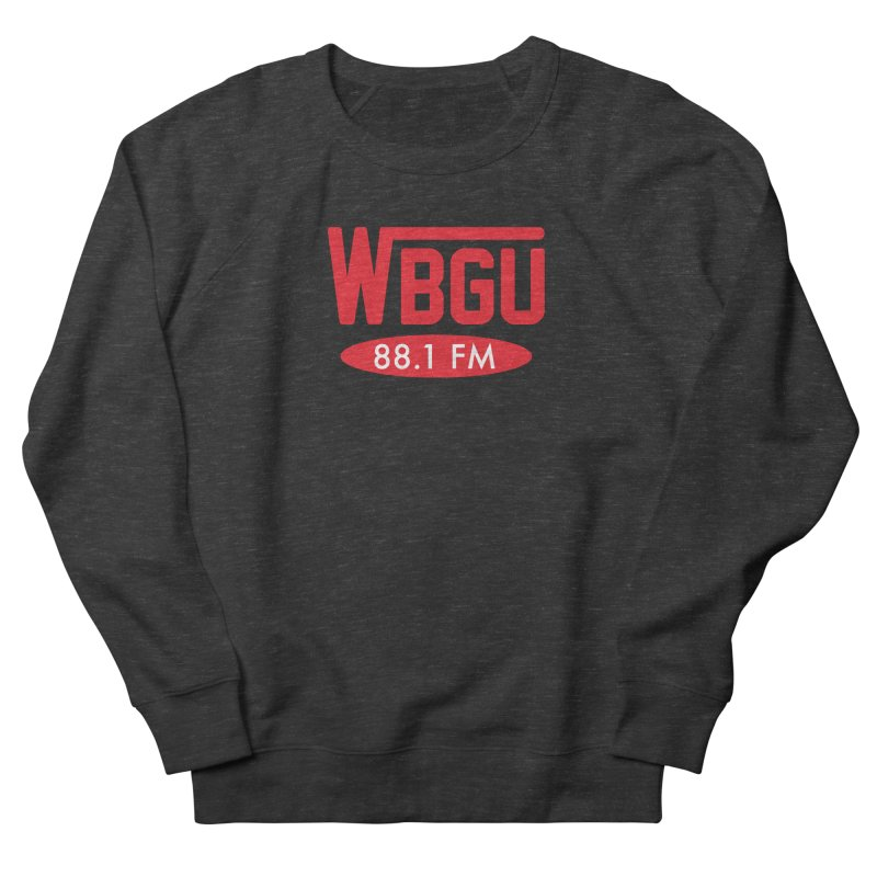WBGU Red Logo Men's French Terry Sweatshirt by WBGU-FM's Shop
