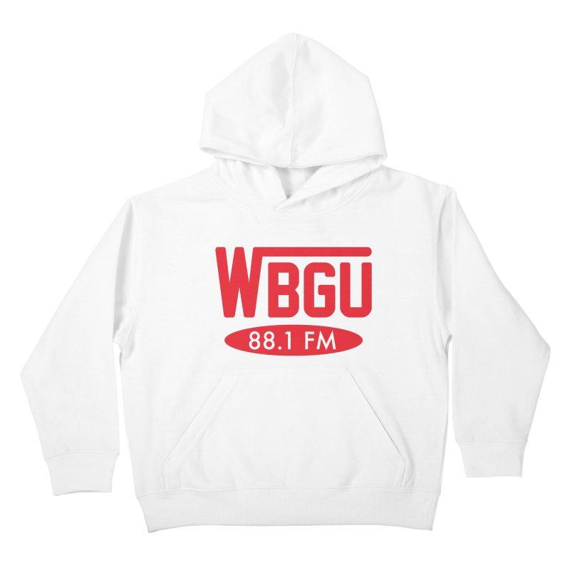 WBGU Red Logo Kids Baby T-Shirt by WBGU-FM's Shop