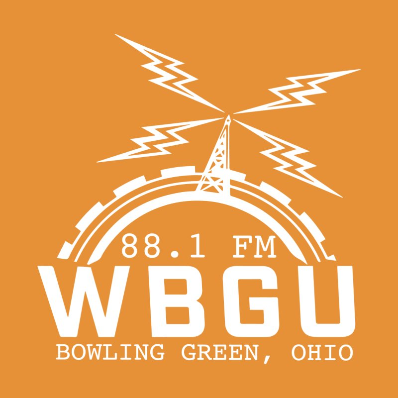 2018 Logo - White by WBGU-FM's Shop