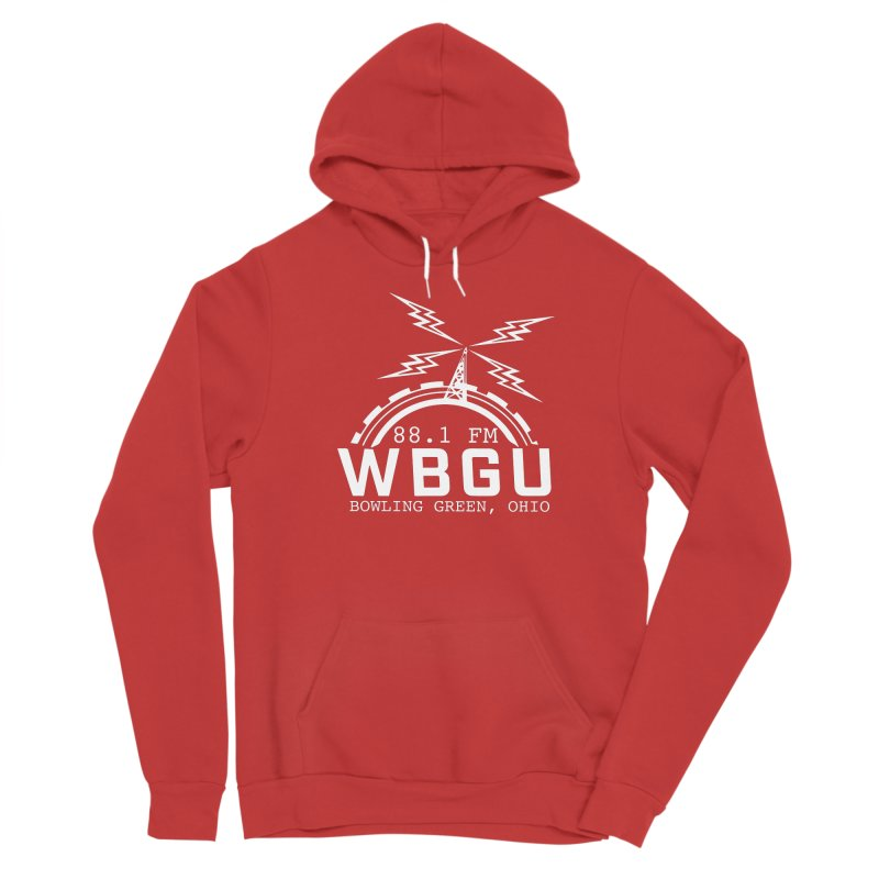 2018 Logo - White Men's Pullover Hoody by WBGU-FM's Shop