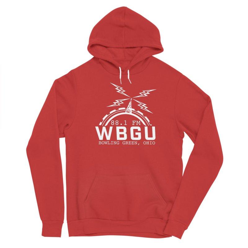 2018 Logo - White Women's Pullover Hoody by WBGU-FM's Shop