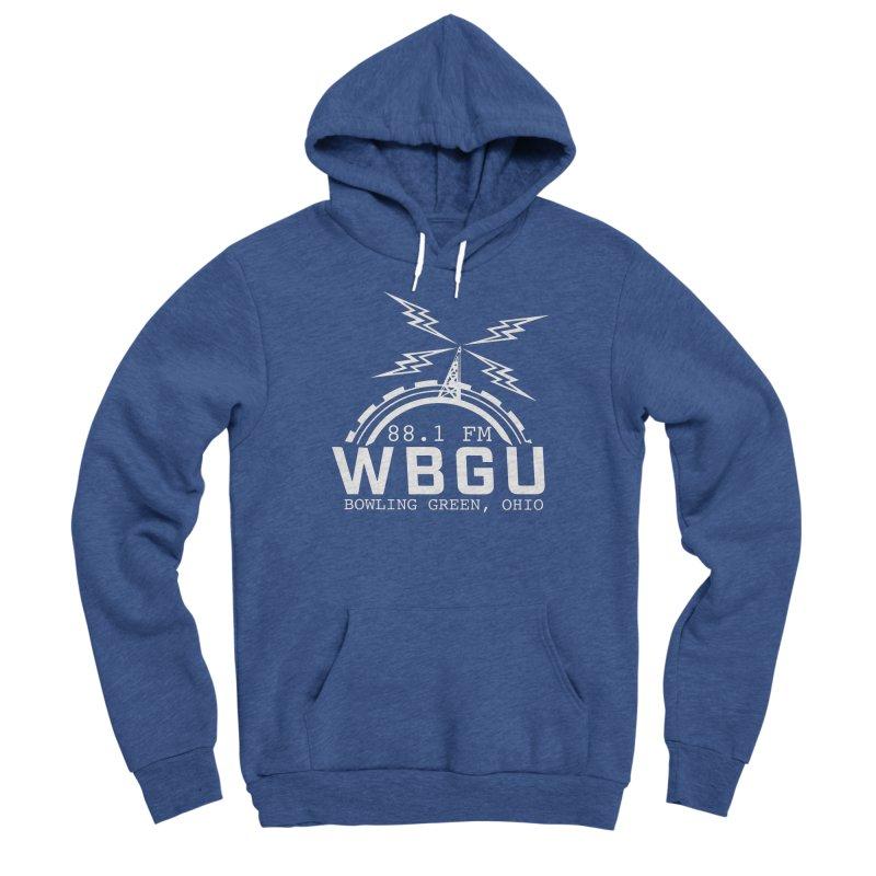 2018 Logo - White Women's Sponge Fleece Pullover Hoody by WBGU-FM's Shop