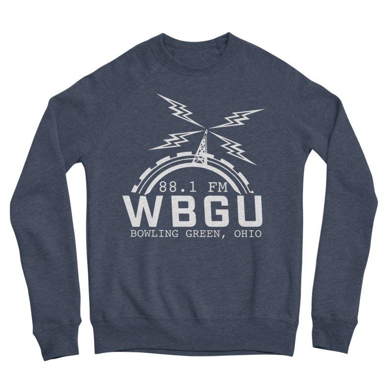 2018 Logo - White Men's Sponge Fleece Sweatshirt by WBGU-FM's Shop
