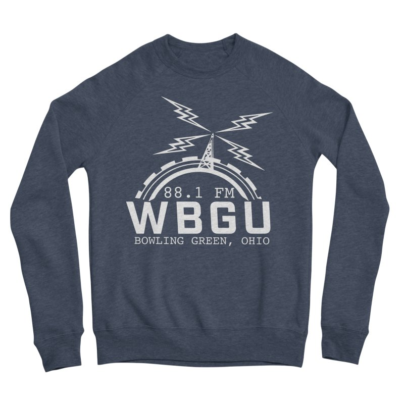 2018 Logo - White Women's Sponge Fleece Sweatshirt by WBGU-FM's Shop