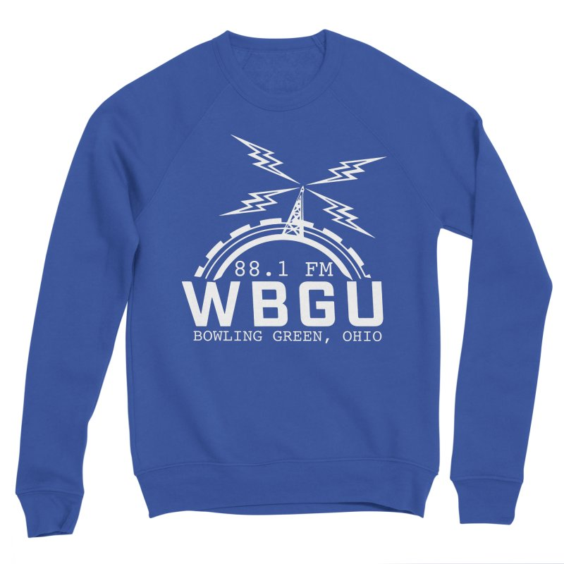 2018 Logo - White Men's Sweatshirt by WBGU-FM's Shop
