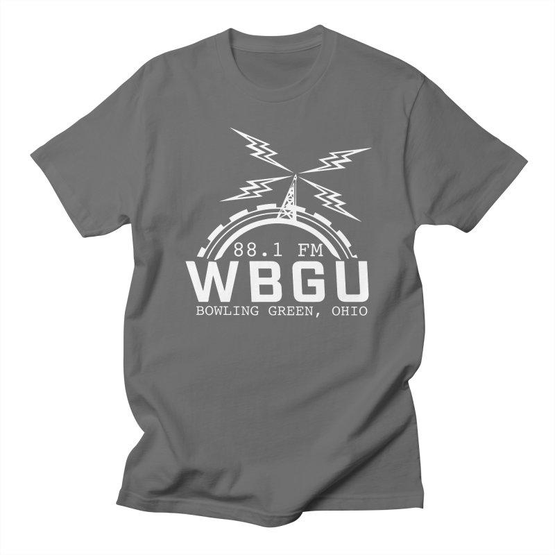 2018 Logo - White Men's T-Shirt by WBGU-FM's Shop