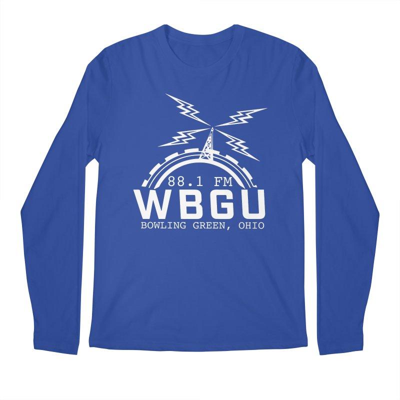 2018 Logo - White Men's Regular Longsleeve T-Shirt by WBGU-FM's Shop