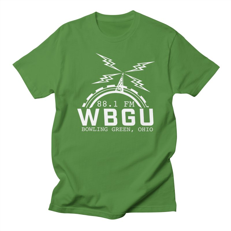 2018 Logo - White Men's Regular T-Shirt by WBGU-FM's Shop