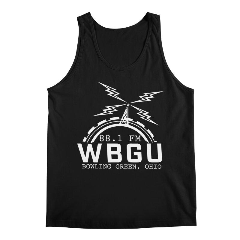 2018 Logo - White Men's Regular Tank by WBGU-FM's Shop