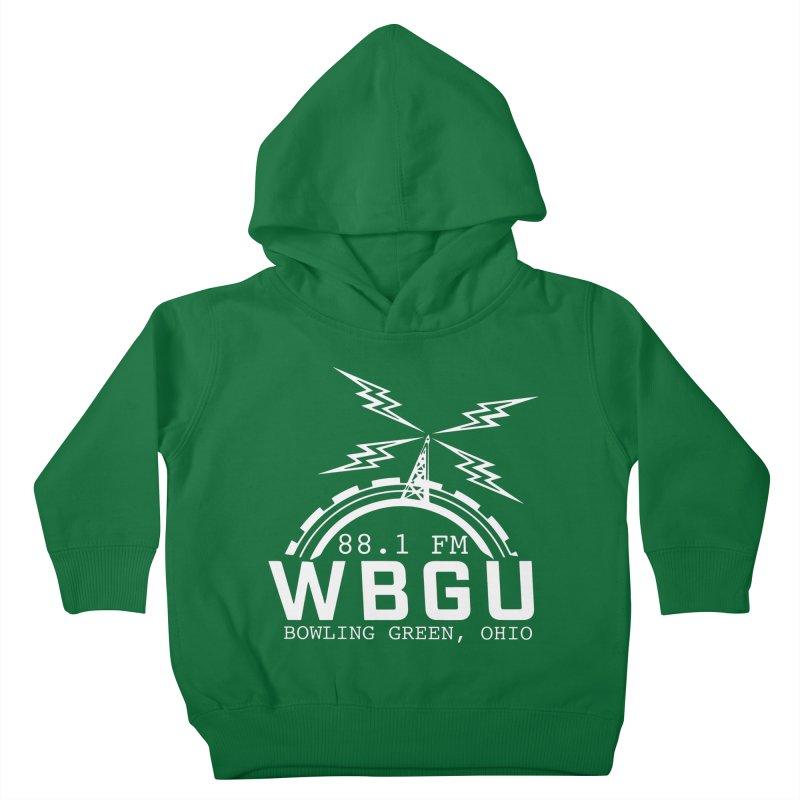 2018 Logo - White Kids Toddler Pullover Hoody by WBGU-FM's Shop