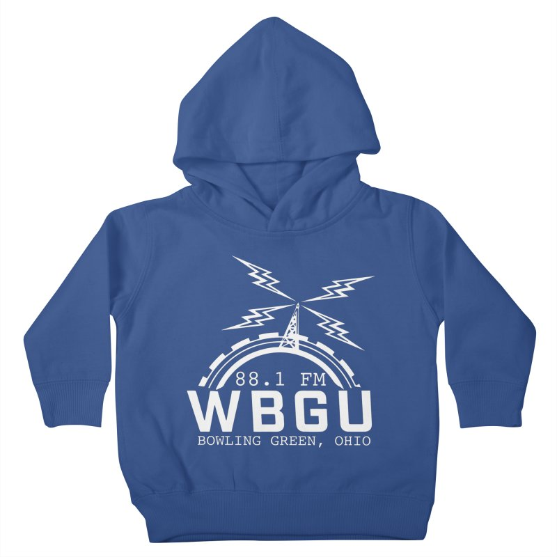 2018 Logo - White Kids Toddler Pullover Hoody by WBGU-FM's Shop