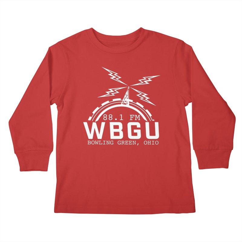 2018 Logo - White Kids Longsleeve T-Shirt by WBGU-FM's Shop