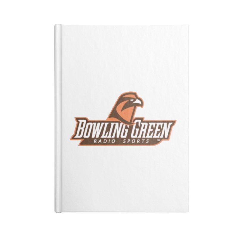 Radio Sports Network Accessories Blank Journal Notebook by WBGU-FM's Shop