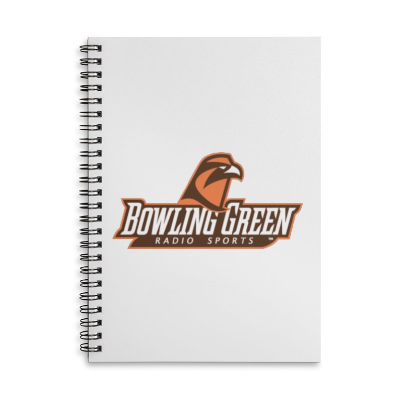 Radio Sports Network Accessories Lined Spiral Notebook by WBGU-FM's Shop