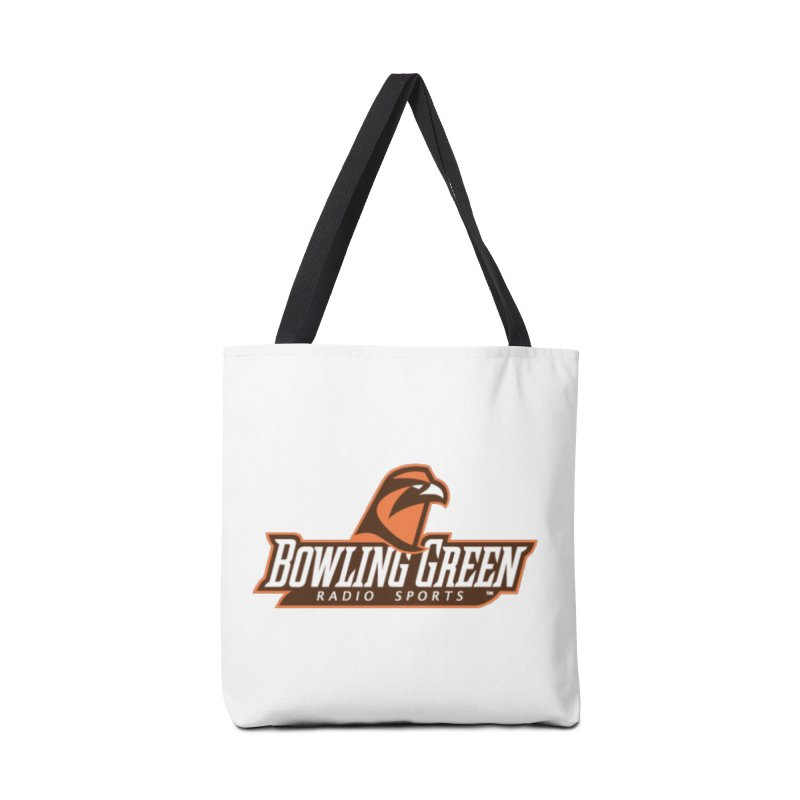 Radio Sports Network Accessories Tote Bag Bag by WBGU-FM's Shop