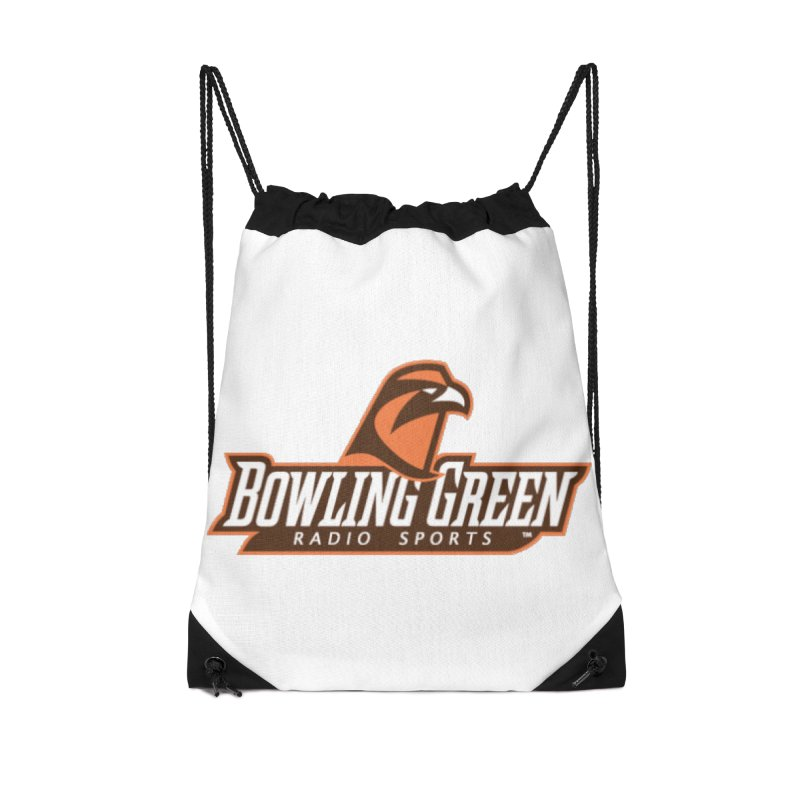 Radio Sports Network Accessories Drawstring Bag Bag by WBGU-FM's Shop