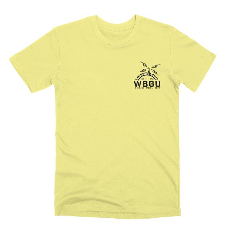 2018 Logo Chest Men's Premium T-Shirt by WBGU-FM's Shop