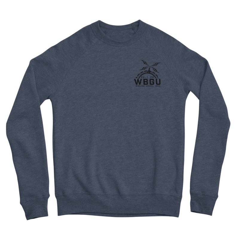 2018 Logo Chest Men's Sponge Fleece Sweatshirt by WBGU-FM's Shop