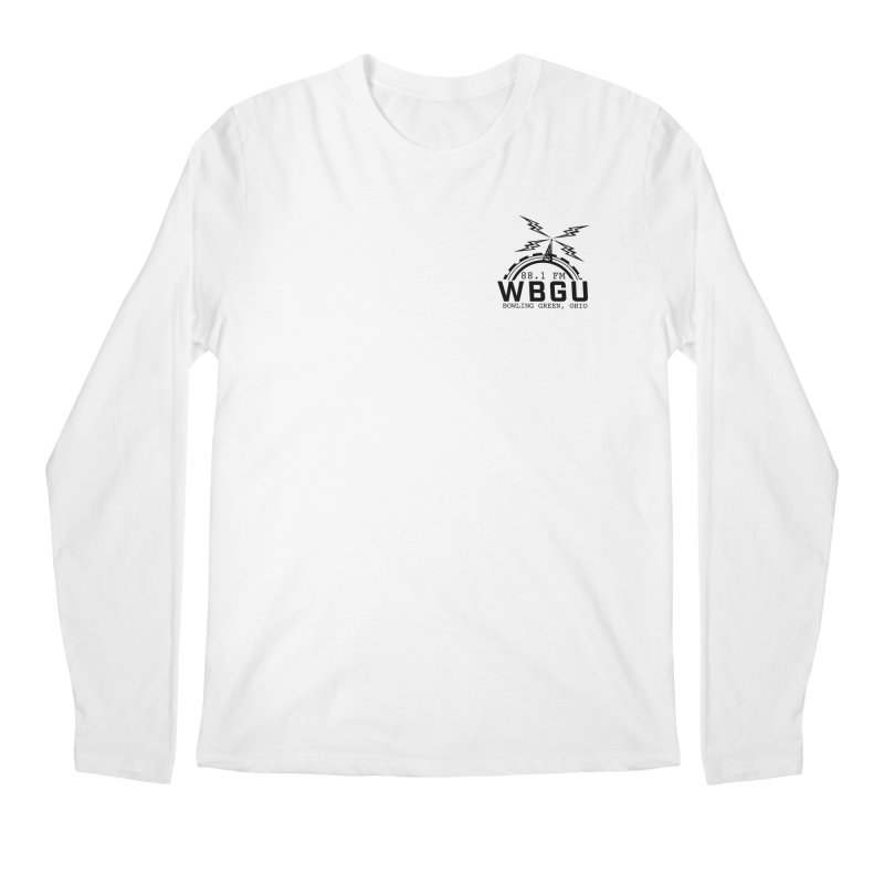 2018 Logo Chest Men's Regular Longsleeve T-Shirt by WBGU-FM's Shop