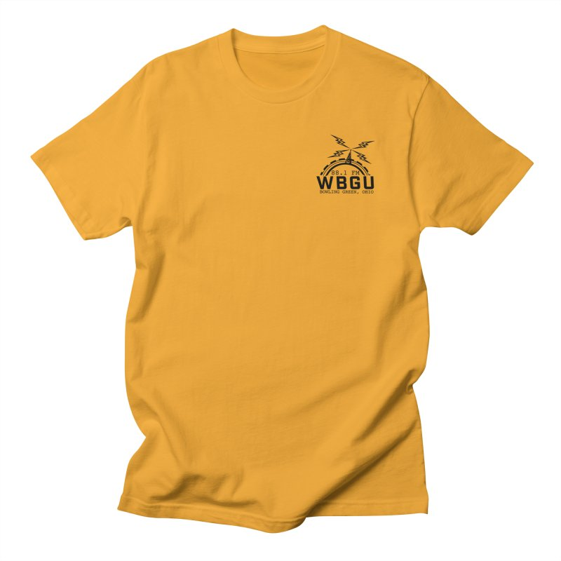 2018 Logo Chest Men's Regular T-Shirt by WBGU-FM's Shop
