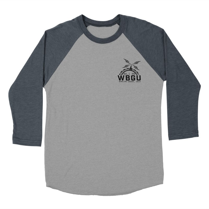 2018 Logo Chest Women's Baseball Triblend Longsleeve T-Shirt by WBGU-FM's Shop