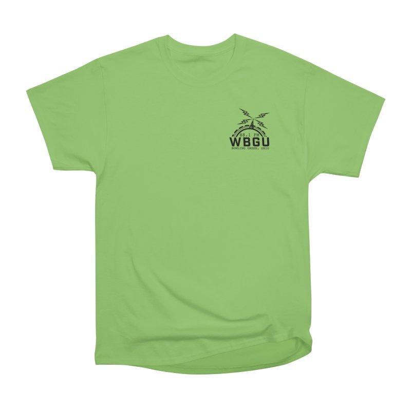 2018 Logo Chest Women's Heavyweight Unisex T-Shirt by WBGU-FM's Shop