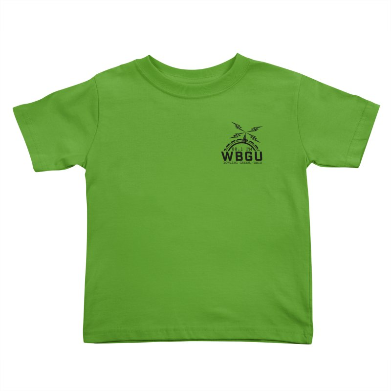 2018 Logo Chest Kids Toddler T-Shirt by WBGU-FM's Shop