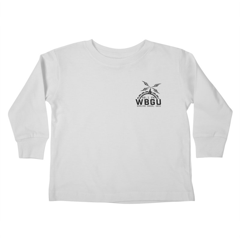 2018 Logo Chest Kids Toddler Longsleeve T-Shirt by WBGU-FM's Shop