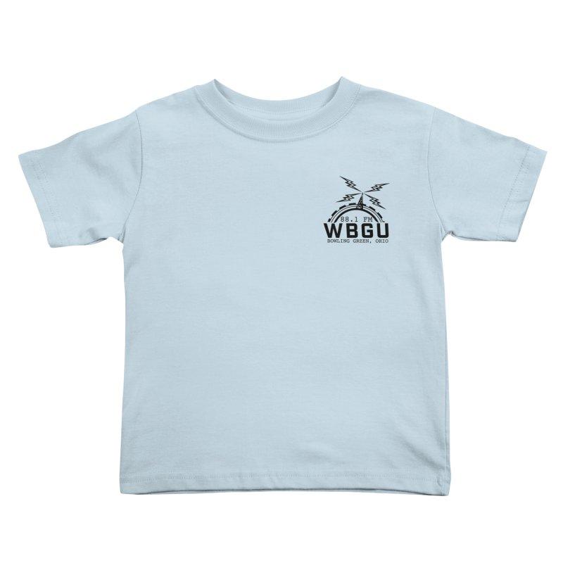 2018 Logo Chest Kids Toddler T-Shirt by WBGU-FM's Shop