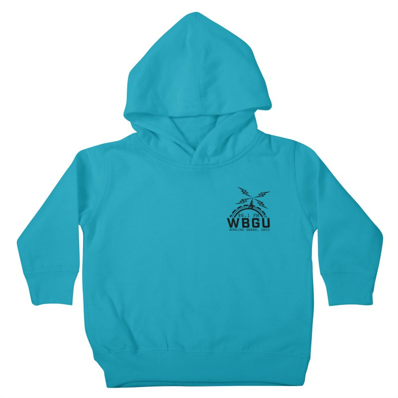 2018 Logo Chest Kids Toddler Pullover Hoody by WBGU-FM's Shop