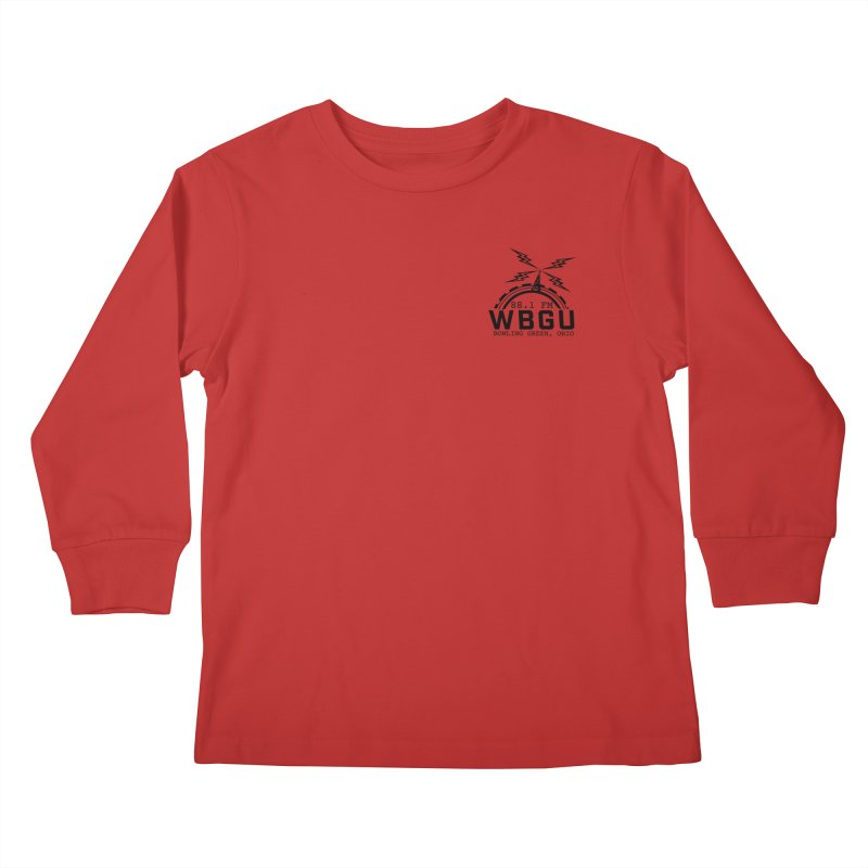 2018 Logo Chest Kids Longsleeve T-Shirt by WBGU-FM's Shop