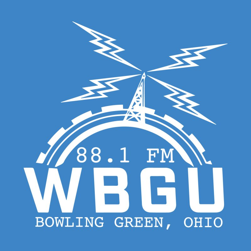 2018 Logo Chest White Men's Sweatshirt by WBGU-FM's Shop