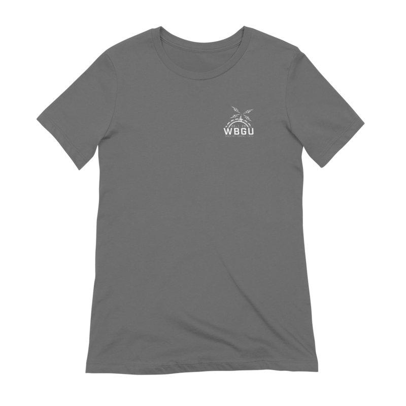 2018 Logo Chest White Women's T-Shirt by WBGU-FM's Shop